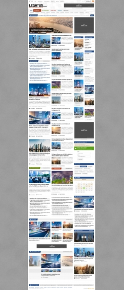 Legatus - Responsive News/Magazine Template - Magazine|Review