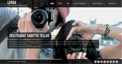 Lensa - free wordpress theme - Free wordpress themes|Photography