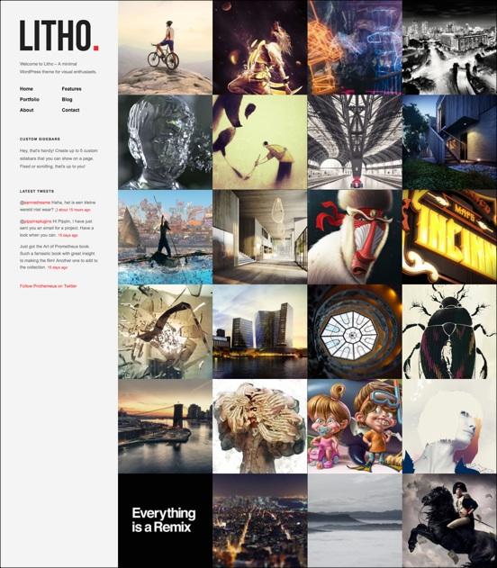 Litho | WordPress Theme for Visual Enthusiasts - Gallery|Portfolio