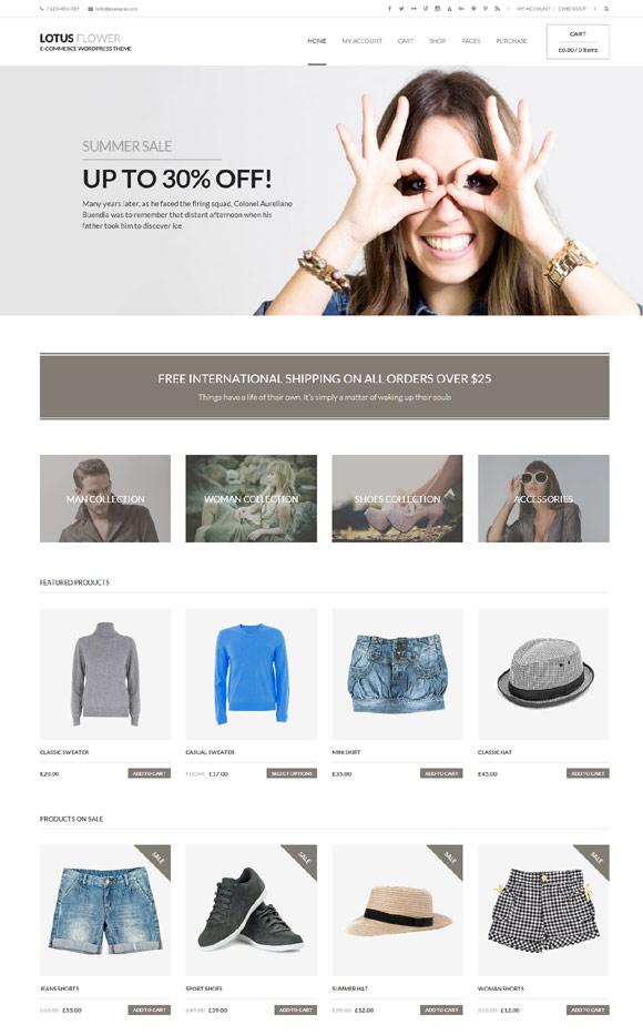 Lotus Flower - Flexible Multi-Purpose Shop Theme - Ecommerce>WooCommerce
