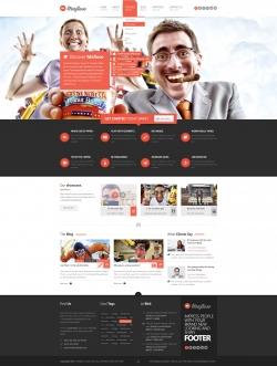 Mafioso WordPress Responsive Theme - Portfolio
