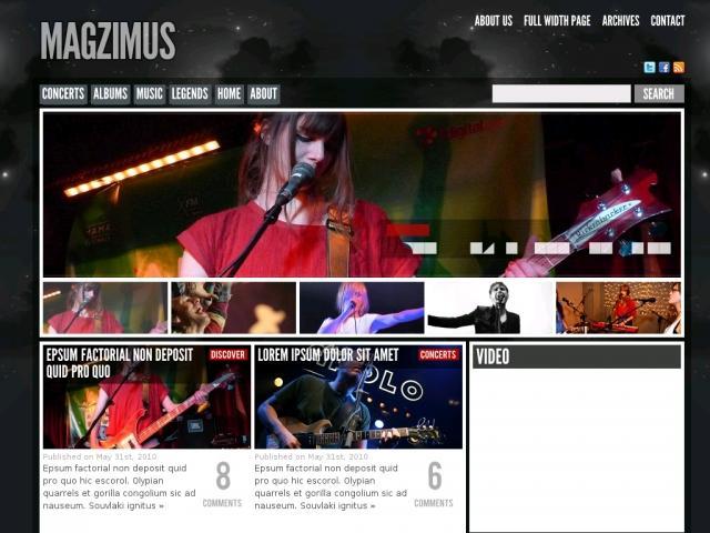 Magzimus  Blog  Magazine theme - Magazine|Review