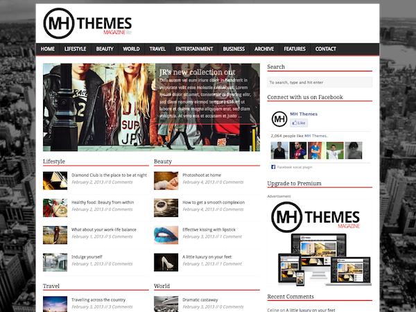 MH Magazine lite - Free wordpress themes|Magazine
