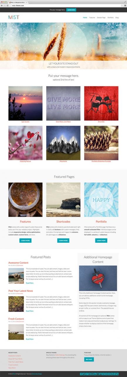 65 Best Portfolio Wordpress Themes 2014 Themes4wp