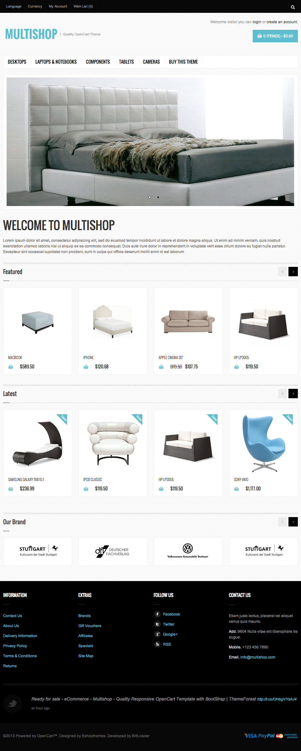 Multishop - Premium Responsive WooCommerce theme - Ecommerce>WooCommerce