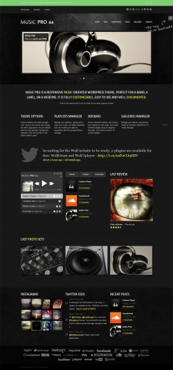 Music Pro - Music Oriented WordPress Theme - Music|Premium wordpress themes