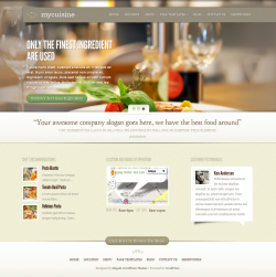 MyCuisine Restaurant WordPress Theme - Premium wordpress themes|Restaurant