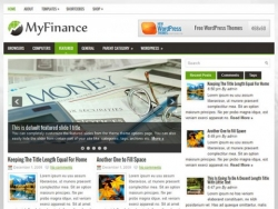 MyFinance- free wordpress theme - Blog|Free wordpress themes