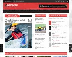 News-mix Responsive Magazine WordPress Theme - Magazine