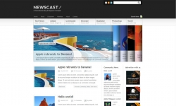 Newscast 4 in 1 - Wordpress Magazine and Blog - Magazine