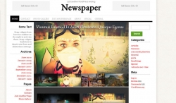 Newspaper free WordPress Theme - Free wordpress themes|Magazine