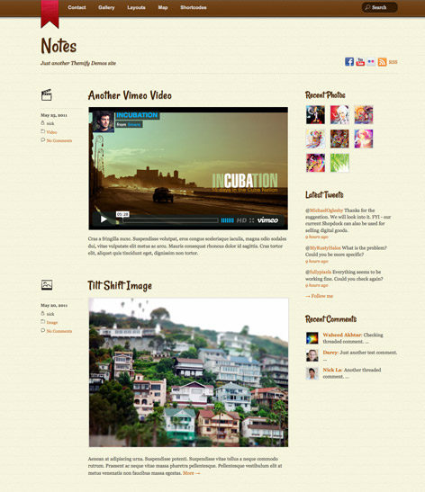 20+ Best Tumblr Style WordPress Themes 2014 - Themes4WP