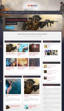 Oblivion - The Ultimate Multi-Purpose Gaming Theme - Gaming