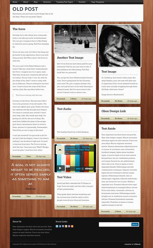 20+ Best Tumblr Style WordPress Themes 2014 - Themes4WP