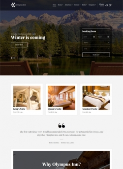 - Hotel|Premium wordpress themes