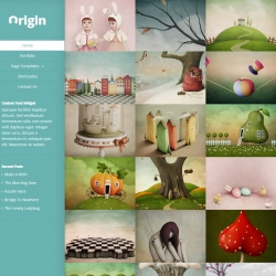 Origin WordPress Theme - Portfolio|Tumblr-Style