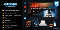 Orizon - The Gaming Template WP version - Gaming|Review