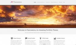 Panoramica Free Wordpress Theme - Free wordpress themes Portfolio