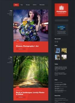 Photographia - photography blog for Wordpress - Photography