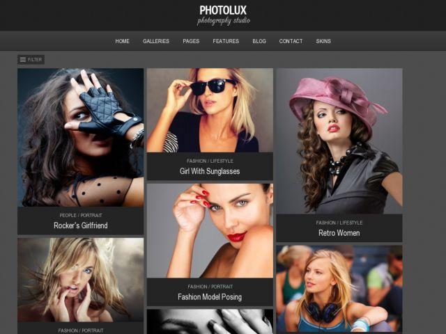 Photolux - Photography Portfolio WordPress Theme - Creative|Photography