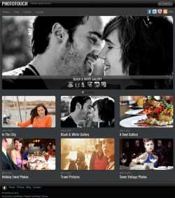 PhotoTouch Photography WP Theme - Photography