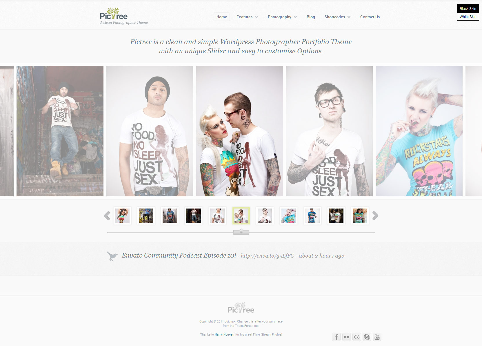 PicTree - A clean Photographer Wordpress Theme - Gallery|Photography