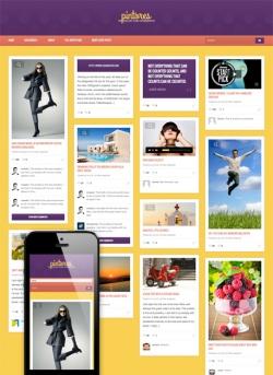 Pintores - Pinterest-style Wordpress Theme - Pinterest