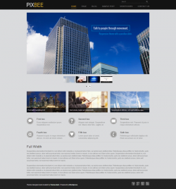 PixBEE Business WordPress Theme - Business