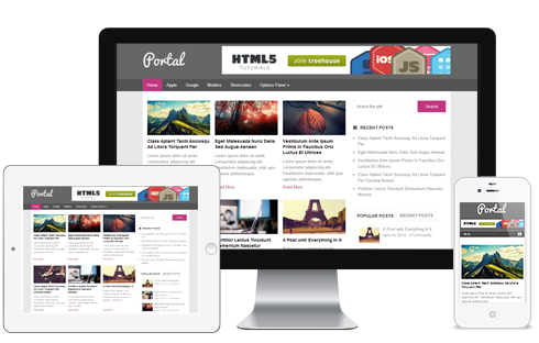 Portal free WordPress Theme - Blog|Free wordpress themes