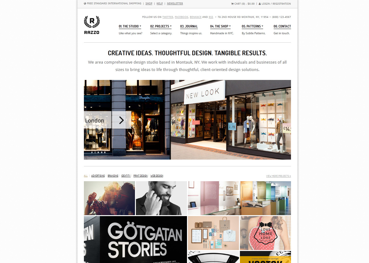 Razzo Premium Business / eCommerce WordPress Theme - Premium wordpress themes|Ecommerce>WooCommerce