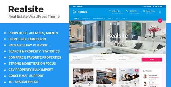 - Premium wordpress themes|Real Estate