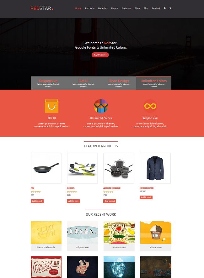 RedStar - e-Commerce WordPress Theme - Ecommerce>WooCommerce