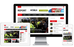 Report WordPress News Theme - Magazine