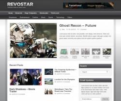 RevoStar - WordPress Magazine/Review Theme - Gaming|Review