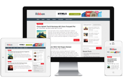 Ribbon free WordPress Theme - Blog|Free wordpress themes