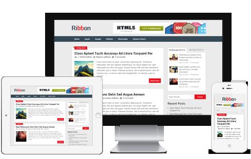 Ribbon free WordPress Theme - Blog|Free wordpress themes