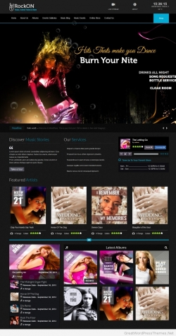 - Music|Premium wordpress themes