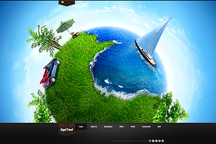 Royal Travel - Travel WordPress Theme - Travel