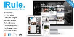 Rule - Retina Responsive WordPress Theme - Pinterest