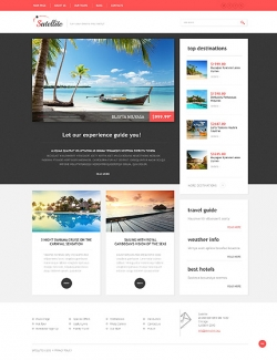 Satellite - Travel Wordpress Theme - Travel