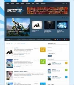 Score: Review WordPress & BuddyPress Theme - BuddyPress Magazine Ecommerce>WooCommerce