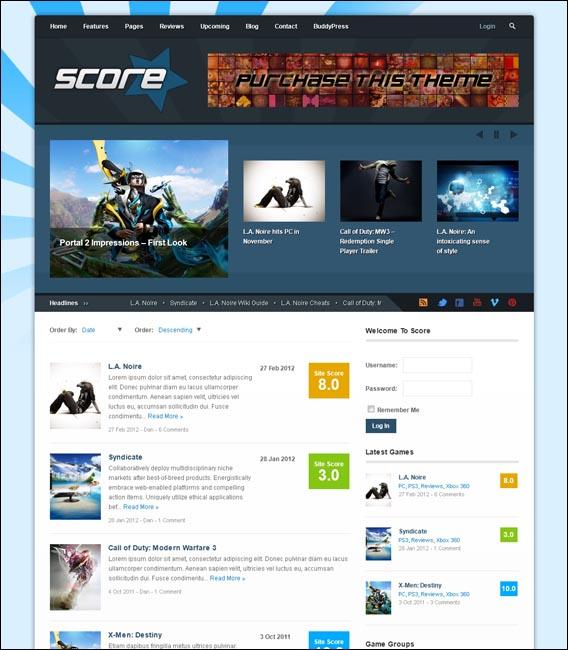 Score: Review WordPress & BuddyPress Theme - BuddyPress|Magazine|Ecommerce>WooCommerce