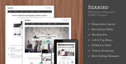 Seabird - Multipurpose Responsive WordPress Theme - Business