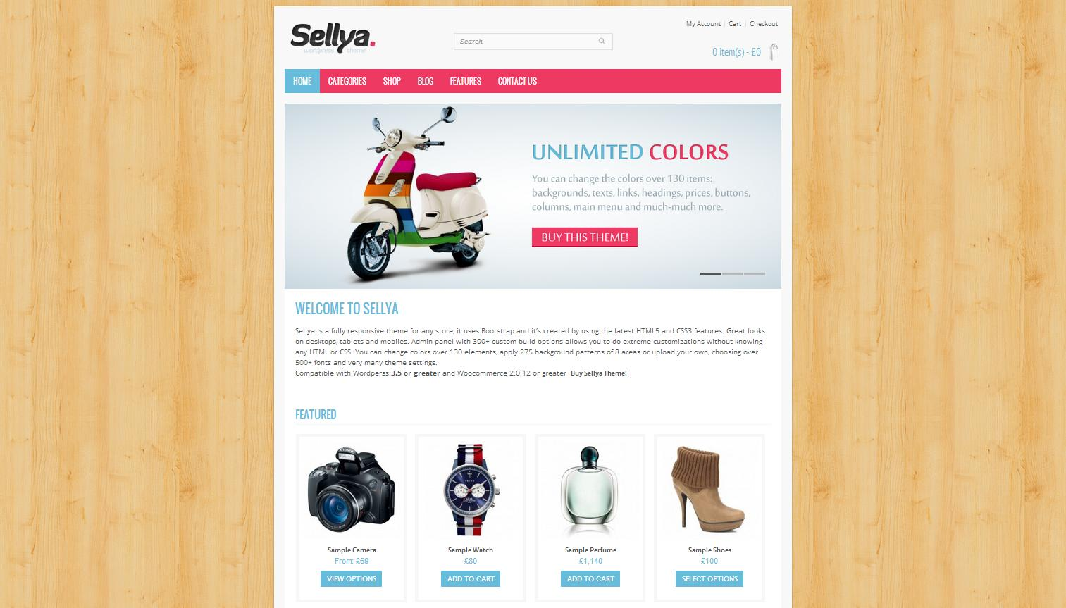 Sellya - Responsive WooCommerce Theme - Premium wordpress themes Ecommerce>WooCommerce