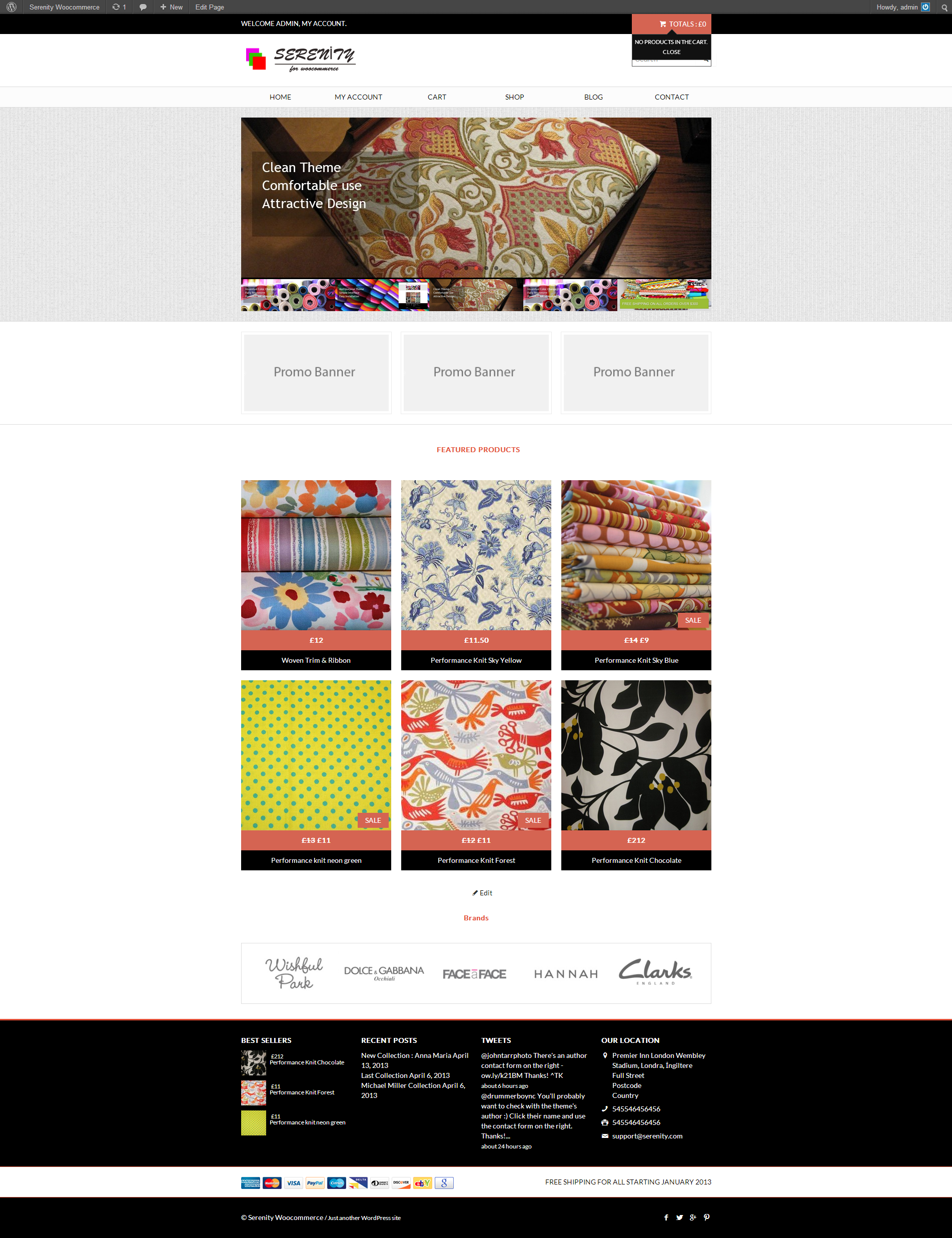 Serenity - Premium Wordpress eCommerce Theme - Ecommerce>WooCommerce