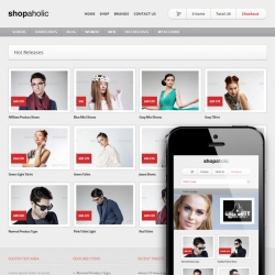 Shopaholic - Powerful WordPress ECommerce Store - Ecommerce>WooCommerce