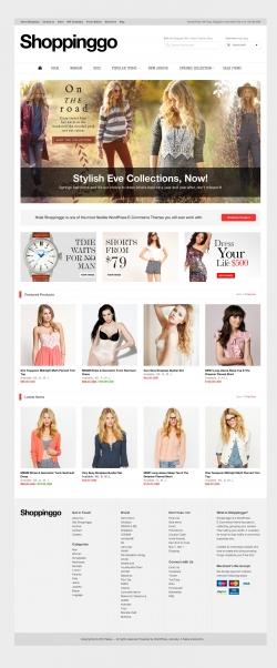 Shoppinggo - WordPress eCommerce Theme - Ecommerce>WooCommerce
