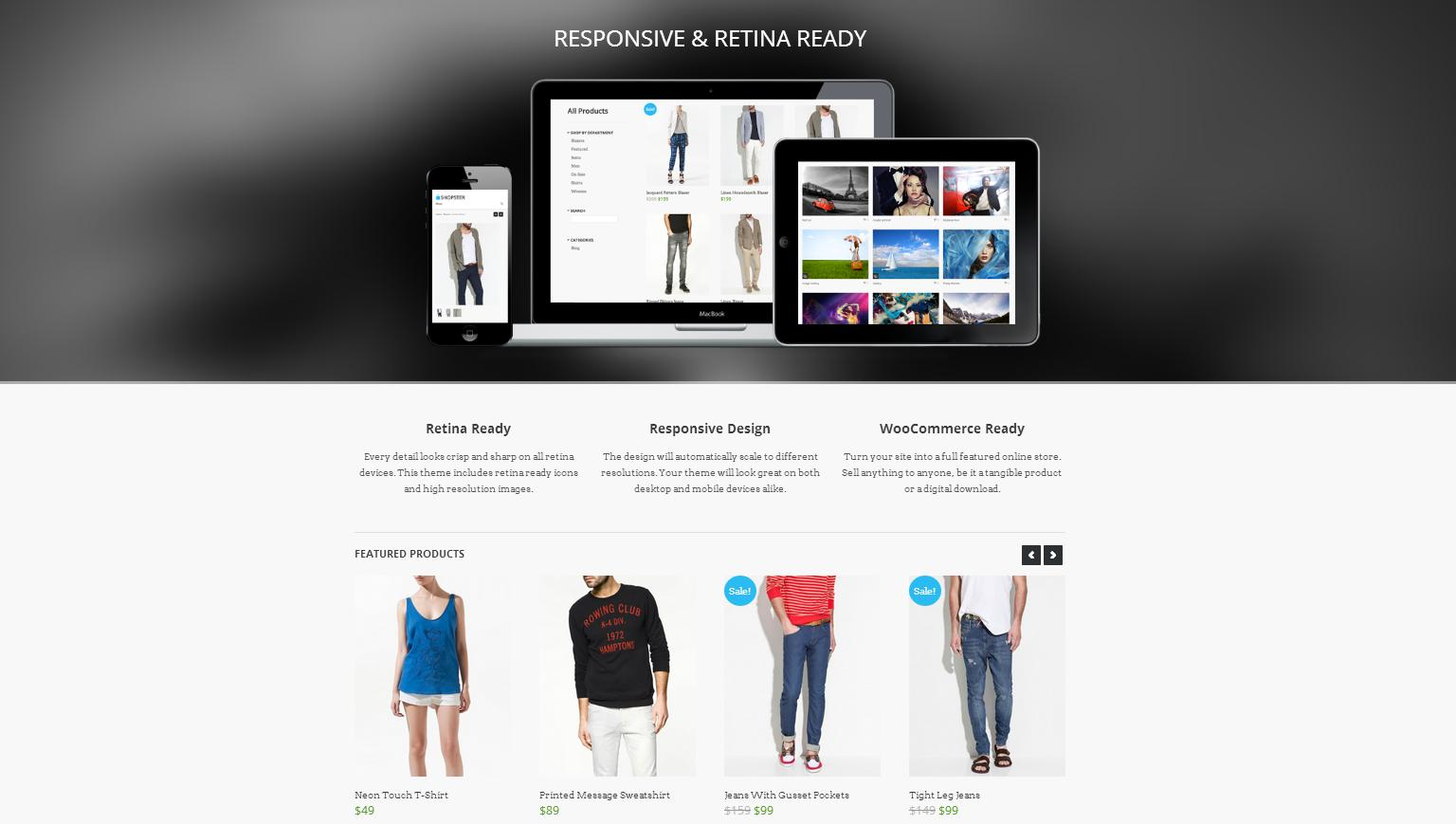 Shopster - Retina Responsive WooCommerce Theme - Premium wordpress themes|Ecommerce>WooCommerce