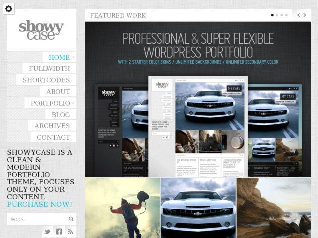 ShowyCase - Portfolio / Photography WP Theme - Creative|Photography