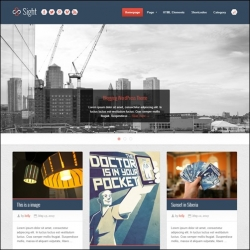 Sight - Infinite Blogging WordPress Theme - Magazine|Pinterest